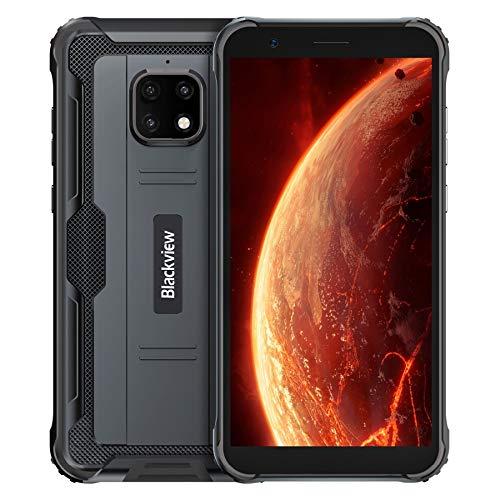 IP68 Rugged Mobile Phone SIM Free Unlocked, Blackview BV4900 Android 10 Smartphone, 3GB RAM 32GB ROM 256GB Extension, 5…