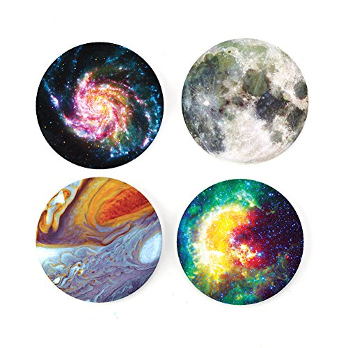 Buttonsmith Astronomy Tinker Top Set to use with Tinker Reel badge reel - Made in USA (Top Reel)