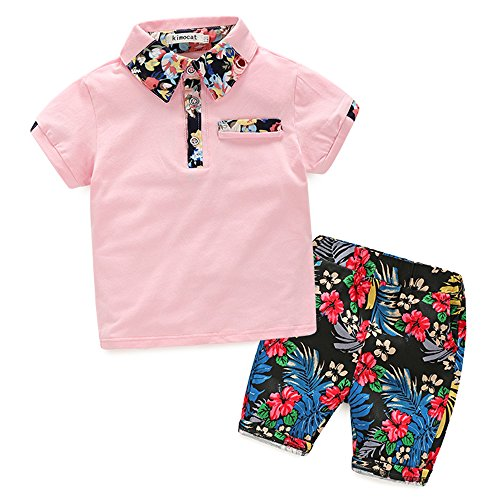 Baby Boys Short Sets Short Sleeve Plaid Shirts Tops Shorts Pants Summer Outfits