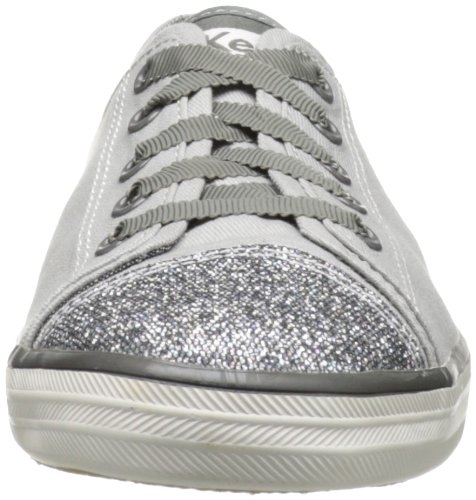 Keds Rally Glitter Toe, Sneaker donna Grigio gris