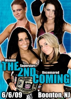 WSU - Women Superstars Uncensored Wrestling - The 2nd Coming DVD-R