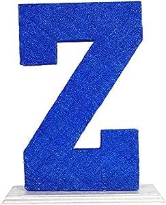 حرف Z ديكور - ازرق