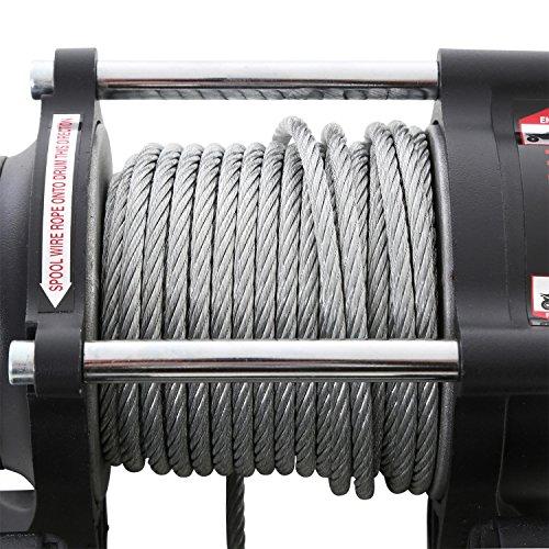 12v Chrome Electric Winch - Smittybilt 97203 XRC-3 3,000 lbs Winch