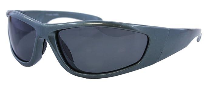Anti Glare flotante gafas de sol funda rígida para hombre envolventes marco lentes polarizadas 100%