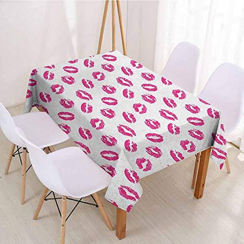 - ScottDecor Table Cover Christmas Tablecloth W 70