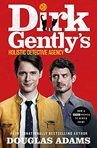 book cover of Dirk Gently\'s Holistic Detective Agency