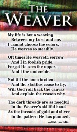 - The Weaver (Packet of 100, KJV)