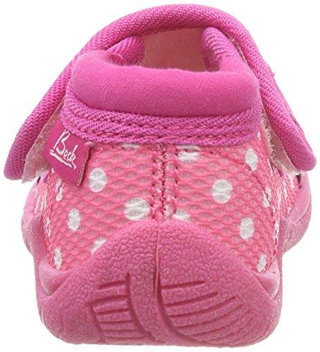 Beck Mädchen Youngster Hausschuhe Pink (Pink)