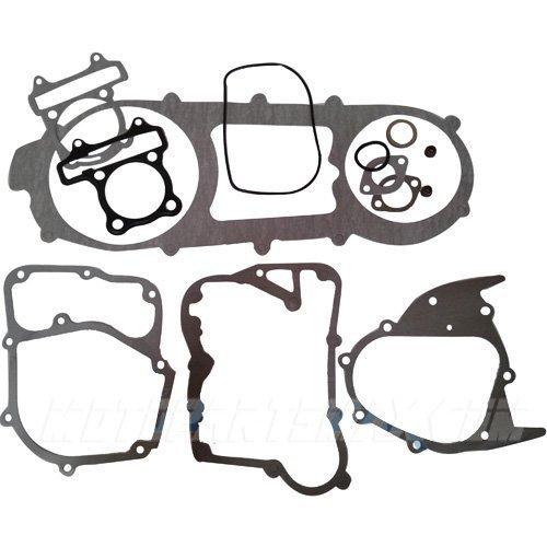 (Complete Gasket Set for GY6 150cc Moped Scooters ATVs Go Karts Quad 4 Wheeler Dune Buggy Sandrail Roketa Taotao Jonway)
