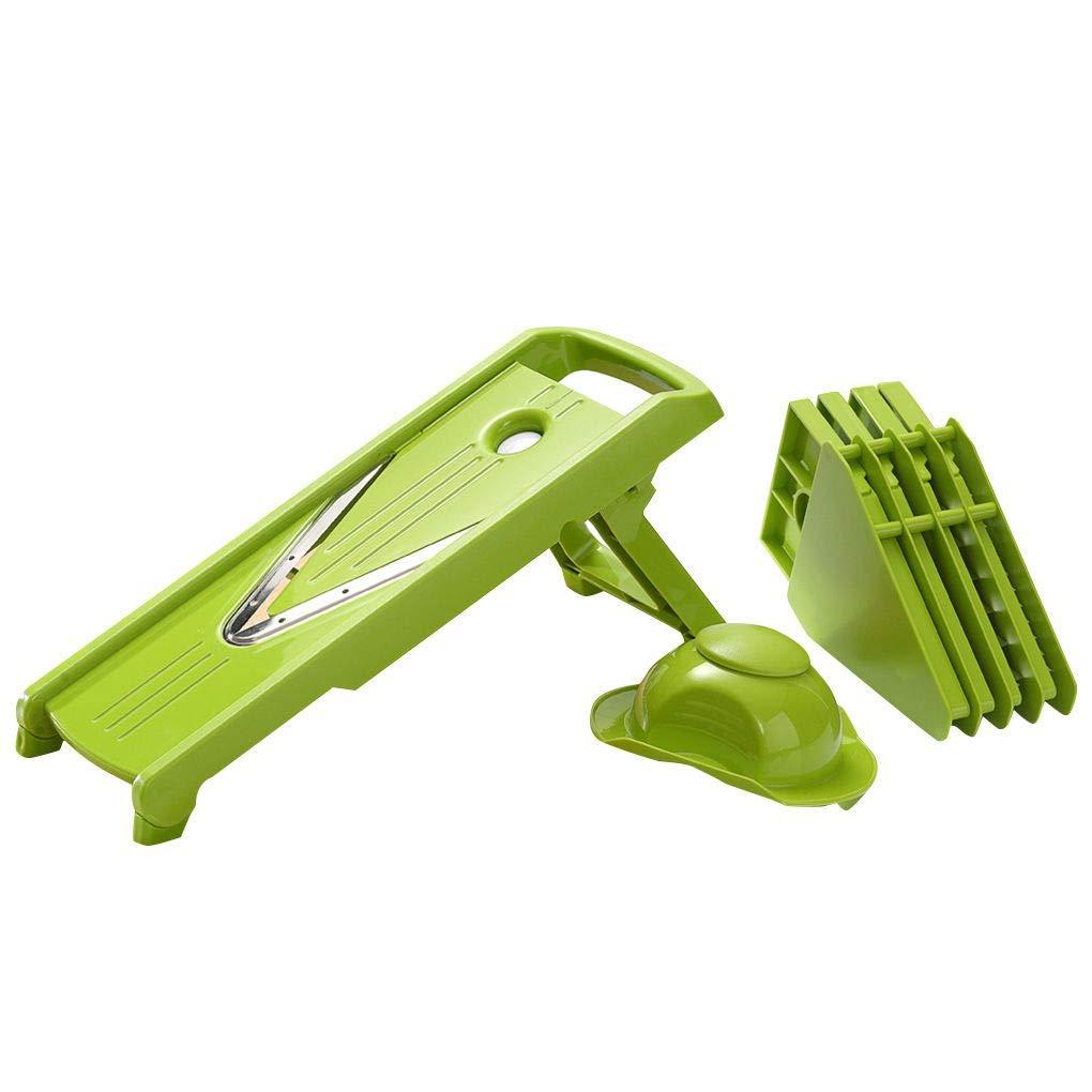 Desconocido Manual Multifuncional Shredder Domé sticos de Cocina Rallador Chipper má quina de Cortar Vegetal de Frutas pelador Dicer Cortador Chopper Windy5