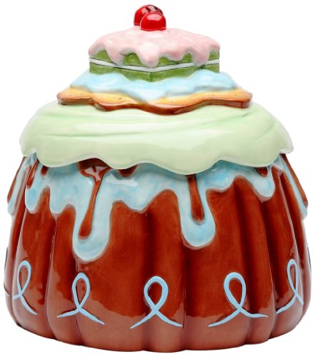 Appletree Design Life Is Sweet Cookie Jar, (Sweets Cookie Jar)