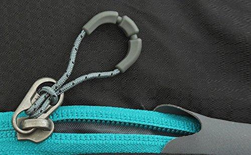 Bolsa De Viaje De Nylon De Múltiples Funciones De Los Hombres,36-55L-blue
