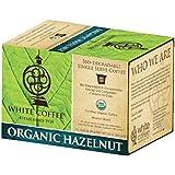White Coffee Organic Single Serve Coffee, Hazelnut, 10 Count