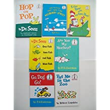 Beginner Books Series (Set of 7) Hop on Pop; And to Think That I Saw It on Mulberry St; I Can Read with My Eyes Shut; One Fish Two Fish Red Fish Blue Fish; Are You My Mother; Go, Dog Go! Put Me in the