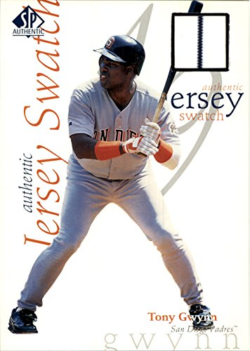 1998 SP Authentic Game Jersey 5 x 7 #5 Tony Gwynn Jersey - NM-MT
