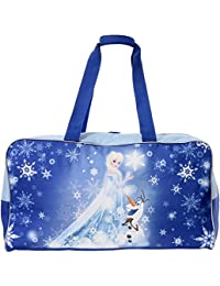 Disney Frozen Kid's Elsa and Olaf Duffle Travel Bag