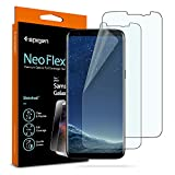 Spigen NeoFlex Galaxy S8 Plus Screen Protector [ Flexible Film ] [ Case Friendly ] for Samsung Galaxy S8+ (2 Pack)