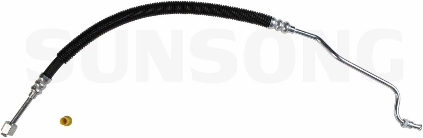 Sunsong 3401737 Power Steering Pressure Line Hose Assembly