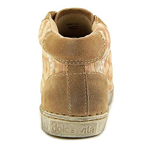 Dolce Vita Zane Femmes Synthétique Tan Mode Sneakers Sable Multi Tissu