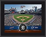 "Detroit Tigers 10"" x 13"" Sublimated Team Stadium Plaque - Fanatics Authentic Certified - MLB Team Plaques and Collages"