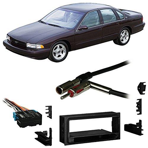 Fits Chevy Impala SS 94-96 Single DIN Stereo Harness Radio Install Dash Kit