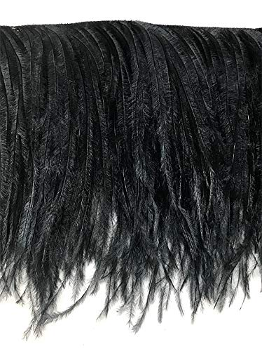 American Feathers 2 Ply Ostrich Feather Fringe 4-5