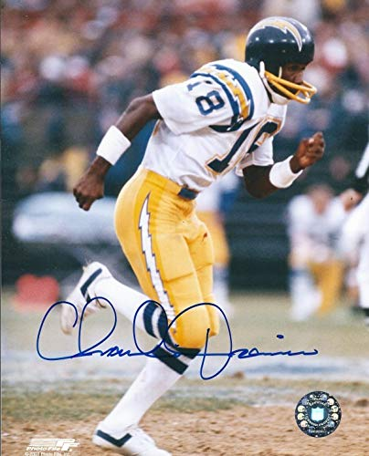 (Autographed Signed Charlie Joiner 8x10 San Diego Chargers Photo - Certified Authentic)