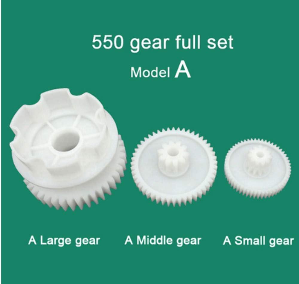 Quima 80Pcs Plastic Gear Kit Gearbox Motor Gear Set for DIY Car Robot QY16