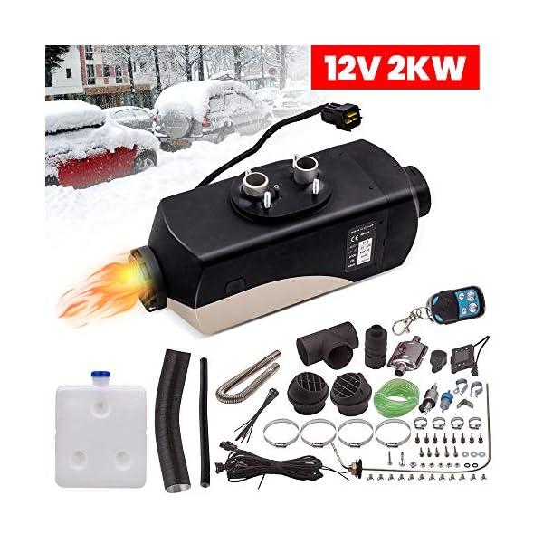 51r3ENioSAL maXpeedingrods 2KW 12V Diesel Standheizung Heizgerät für LKW Wohnwagen Boot Yacht LCD-Schalter