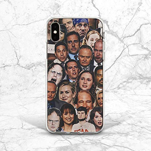 TV Show Characters Face Pattern Back Cover Case For Phone iPhone 5 5s SE 6 6s 7 8 Plus X Xs Max XR 11 Pro 51r3ET2UzQL