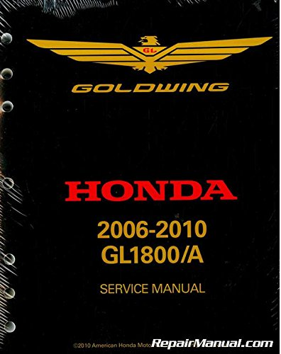 (Official 2006-2010 Honda GL1800 GoldWing Factory Service Manual)