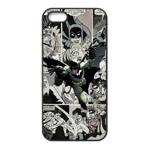 Marvel Comic 003 funda iPhone 5 5S caja funda del teléfono celular del teléfono celular negro cubierta de la caja funda EOKXLLNCD25836