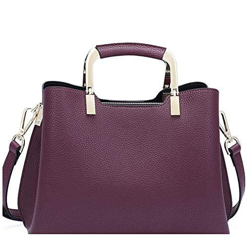 ZJPP Women's Fashion Handbag,Ladies Tote Shoulder Bags,Satchel Purse,Top Handle Work Bag,Leather Bags