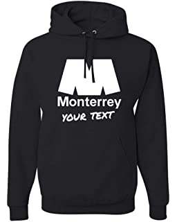 Monterrey Rayados Hooded Hoodie Hoody Sudadera with Free Custom Text(Optional)