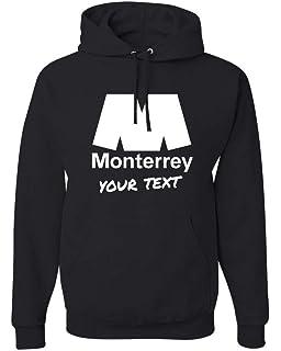 Monterrey Rayados Hooded Hoodie Hoody Sudadera with Free Custom Text(Optional)
