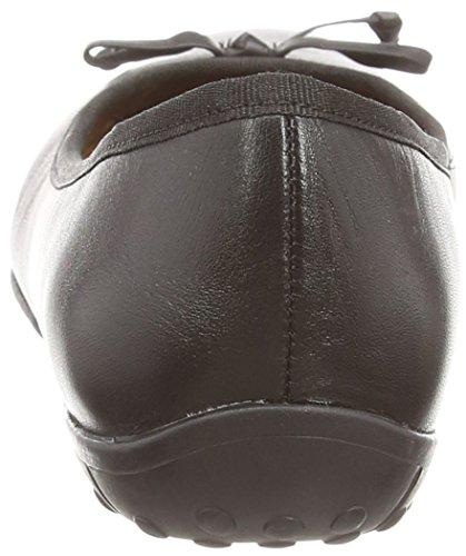 Clarks Arizona Heat - Bailarinas Mujer Negro (Black Leather)