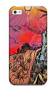 Leana Buky Zittlau's Shop Awesome Defender Tpu Hard Case Cover For Iphone 5c- Zombie 6782609K82445726