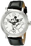 Disney W001853. Reloj de cuarzo analógico de Mickey Mouse para hombre
