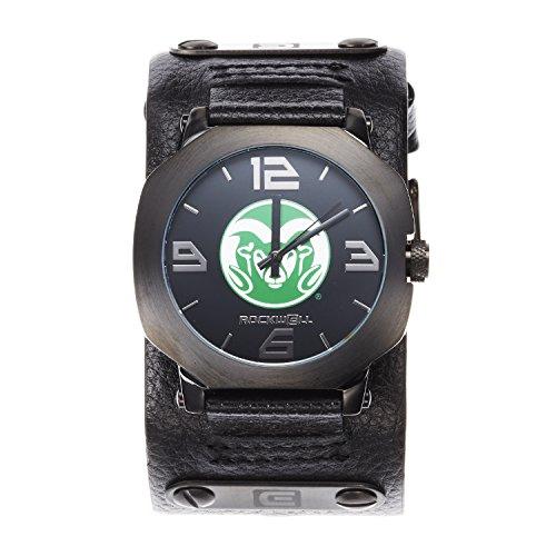 (NCAA Colorado State Rams Men's Assassin Watch, Adjustable, Black)