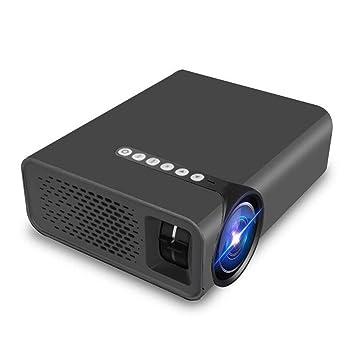 JIANGNAN Mini proyector, Pantalla Plana LED HD 1080P Micro ...