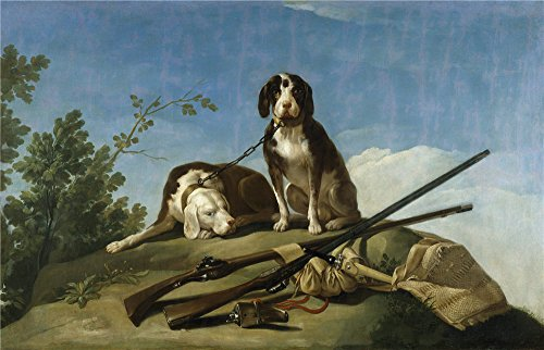 Praying Mantis Dog Costume ('Goya Y Lucientes Francisco De Dogs On The Leash 1775 ' Oil Painting, 24 X 37 Inch / 61 X 95 Cm ,printed On High Quality Polyster Canvas ,this Imitations Art DecorativePrints On Canvas Is Perfectly Suitalbe For Study Decoration And Home Decor And Gifts)