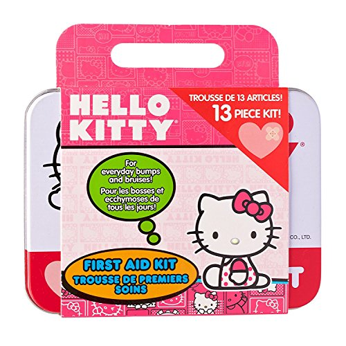 Health Science Labs Hello Kitty 13 Piece First Aid Kit