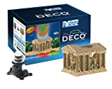 Hydor Deco Ornament Kit, Greek Temple, Multi-Color LED
