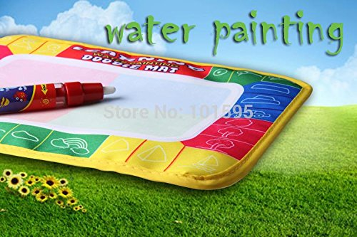 Corcrest(TM) Water painting Aqua Doodle Drawing Mat+1 Magic Pen/Water Drawing Replacement doodle Mat children learning toys