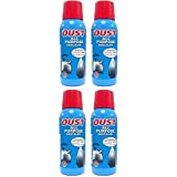 4 x Oust All Purpose Descaler For Irons Kettles Toilet Bowls Coffee Makers 250ml