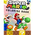 Super Mario Coloring Book Great Coloring Book For Kids And Any Fan Of Super Mario Characters