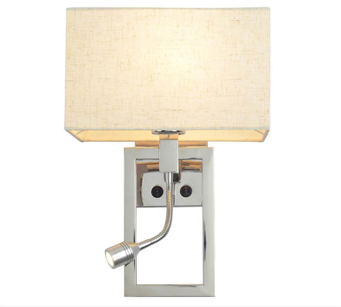 Aussenlampe Wandbeleuchtung Wandlampe Wandleuchte Innen 25X50Cm Moderner Minimalistischer Edelstahl Led Bettkopf