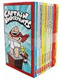Book cover from Captain Underpants: 10 Book Set by Dav Pilkey