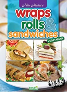 Buy continental cooking for the indian kitchen book online at low wraps rolls sandwiches forumfinder Images