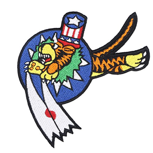Us Army Corps Patch - Heerpoint Reproduction Flying Tigers Us Army Air Corps Avg China Air Force Patch